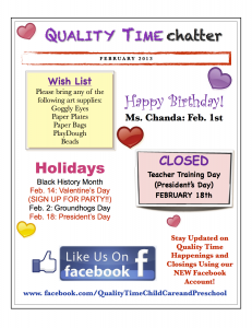February Newsletter Smithfield