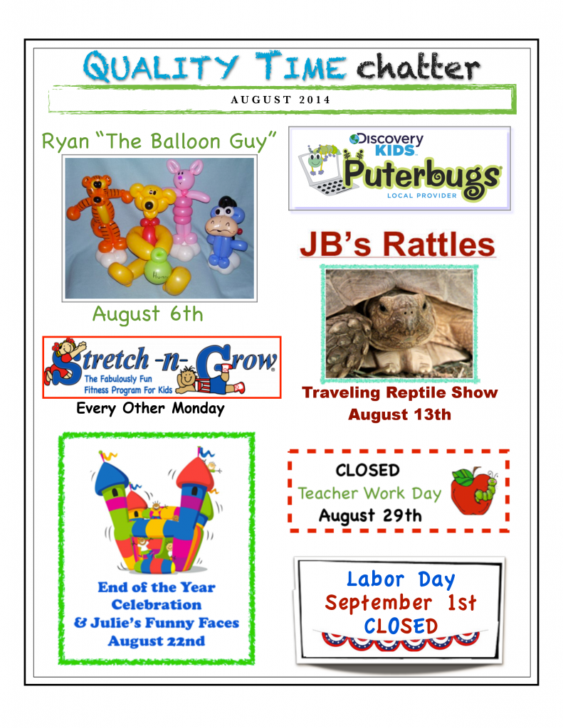 2014 August Newsletter Smithfield