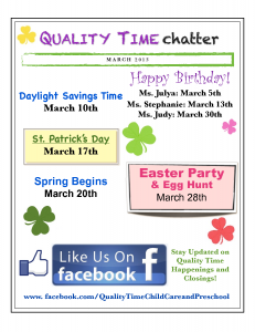 Suffolk Virginia Quality Time Newsletter