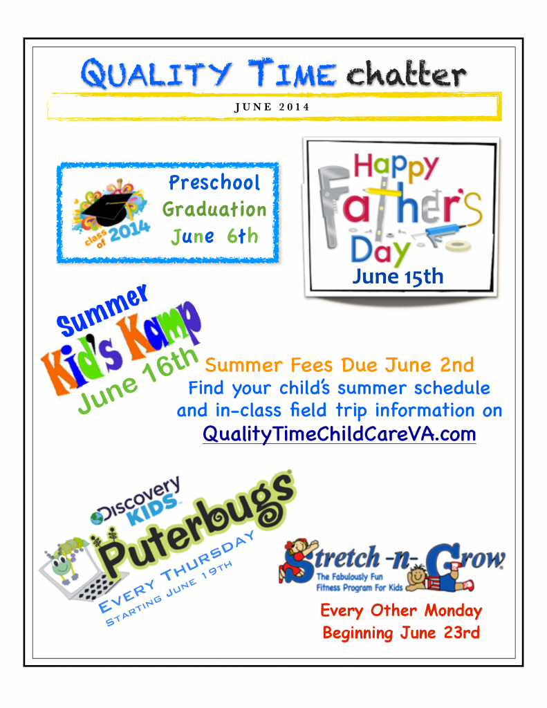 2014 June Newsletter Smfd
