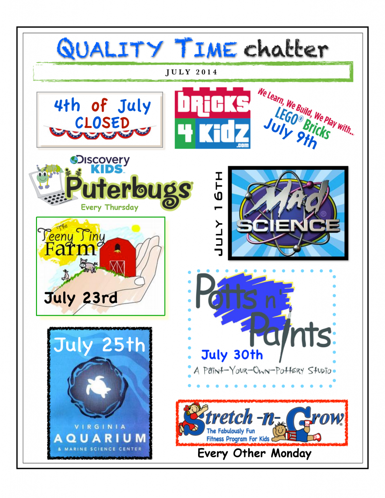 July 2014 Newsletter Smithfield